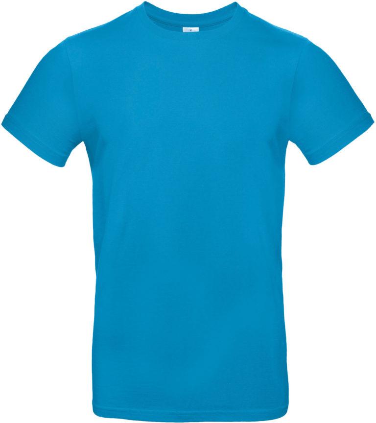 Exact 190 T-shirt B&C Atolblauw
