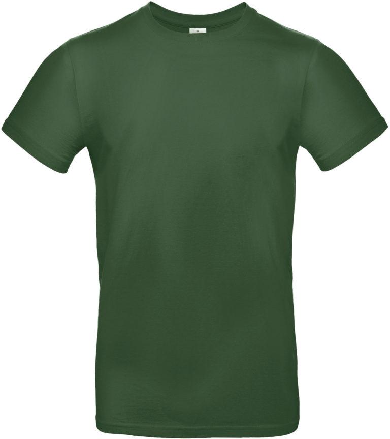 Exact 190 T-shirt B&C Flessengroen