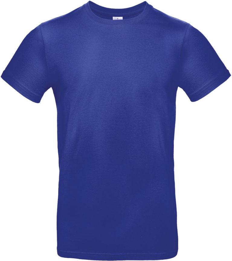 Exact 190 T-shirt B&C Kobaltblauw