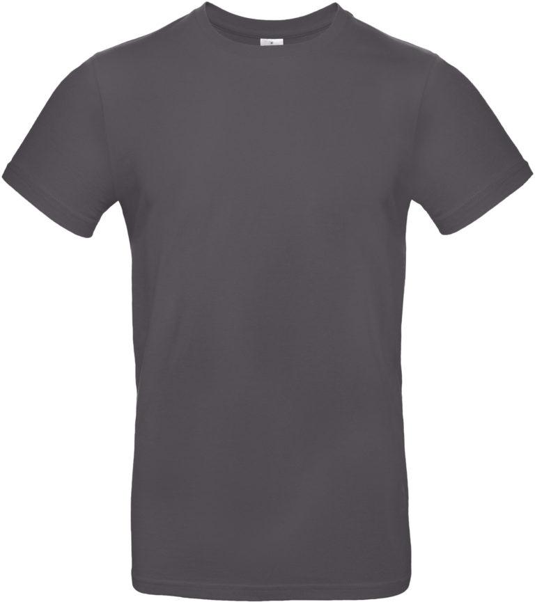 Exact 190 T-shirt B&C Donkergrijs