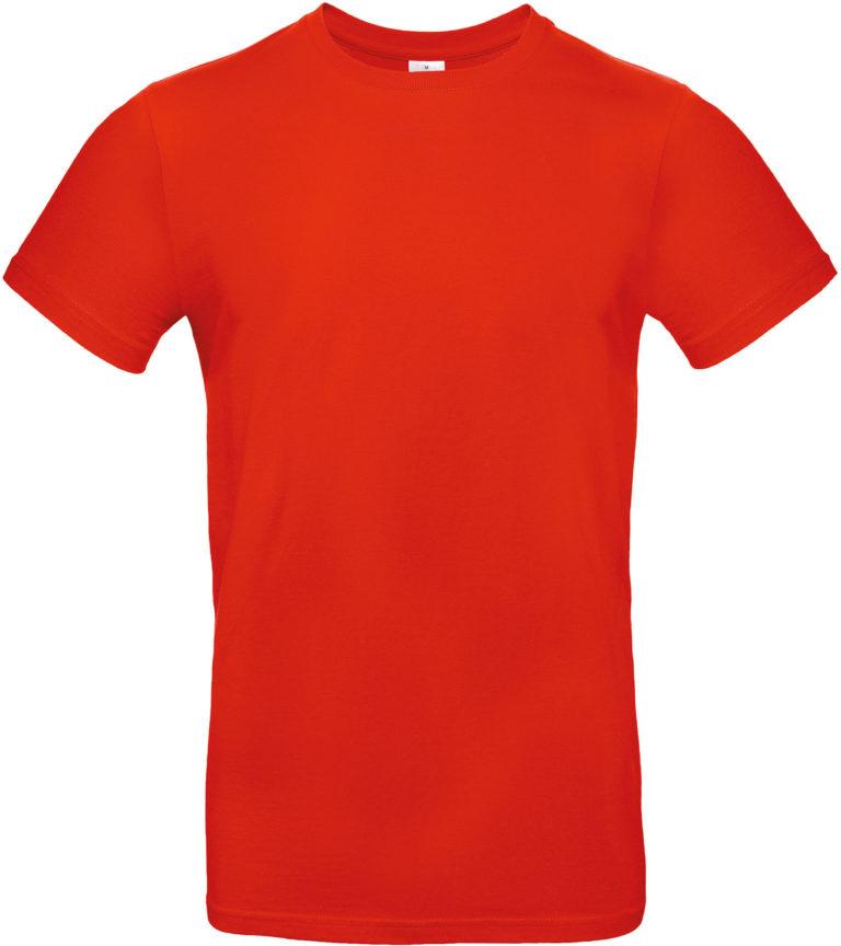 Exact 190 T-shirt B&C Vuurrood