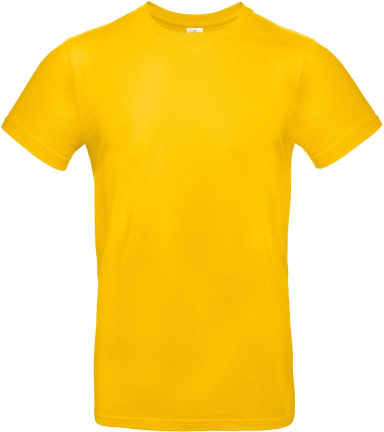 Exact 190 T-shirt B&C goudgeel