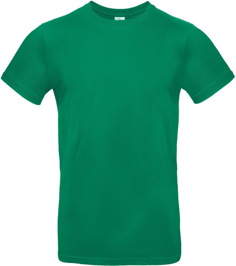 Exact 190 T-shirt B&C Kelly groen