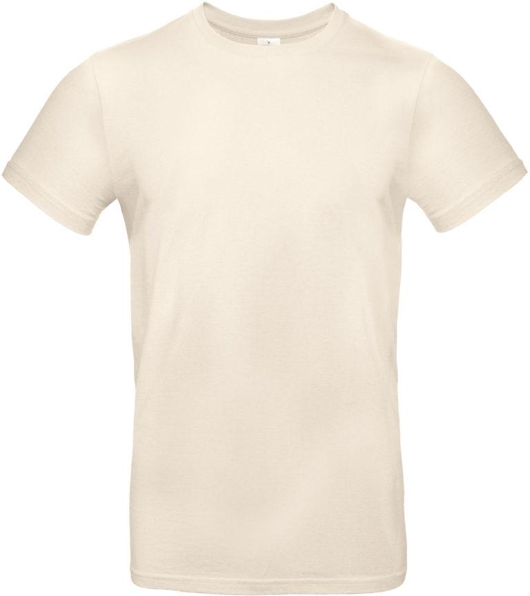Exact 190 T-shirt B&C Natural