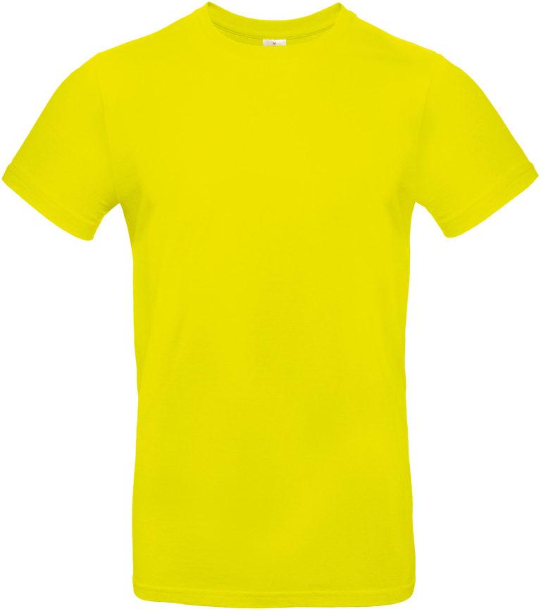 Exact 190 T-shirt B&C geel