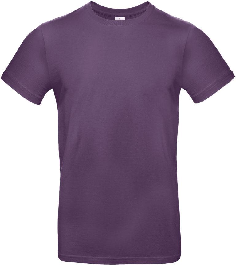 vExact 190 T-shirt B&C Paars