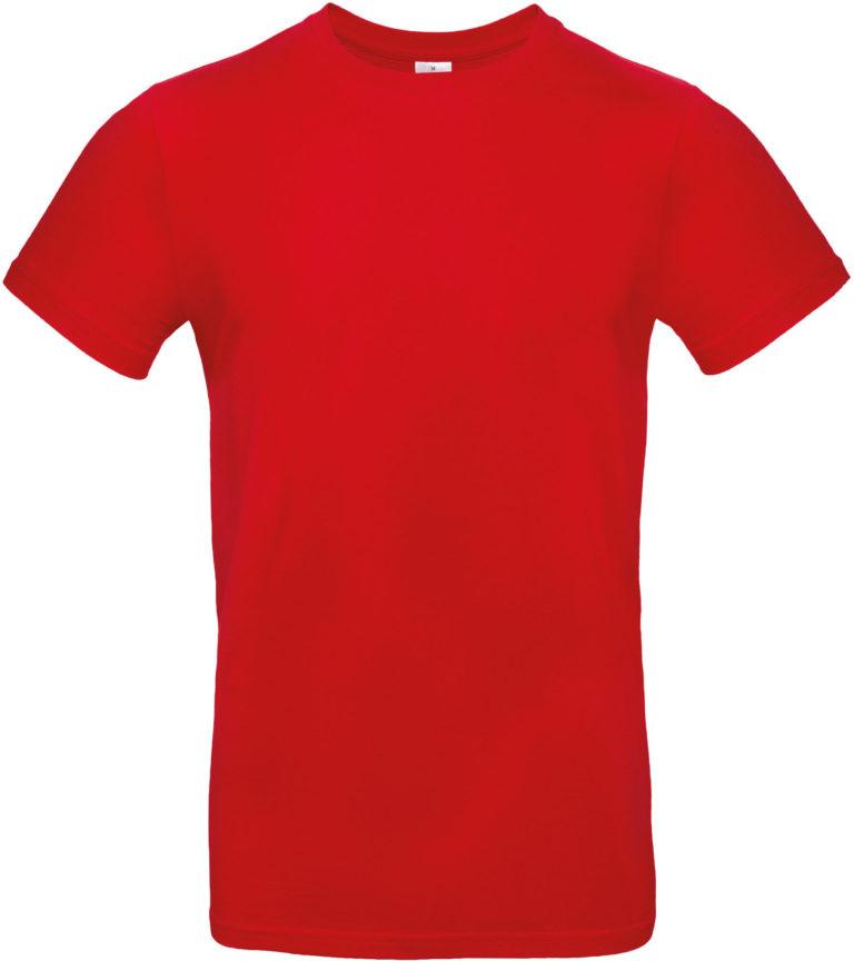 Exact 190 T-shirt B&C Rood