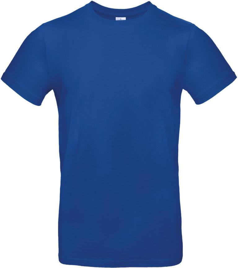 Exact 190 T-shirt B&C Koningsblauw