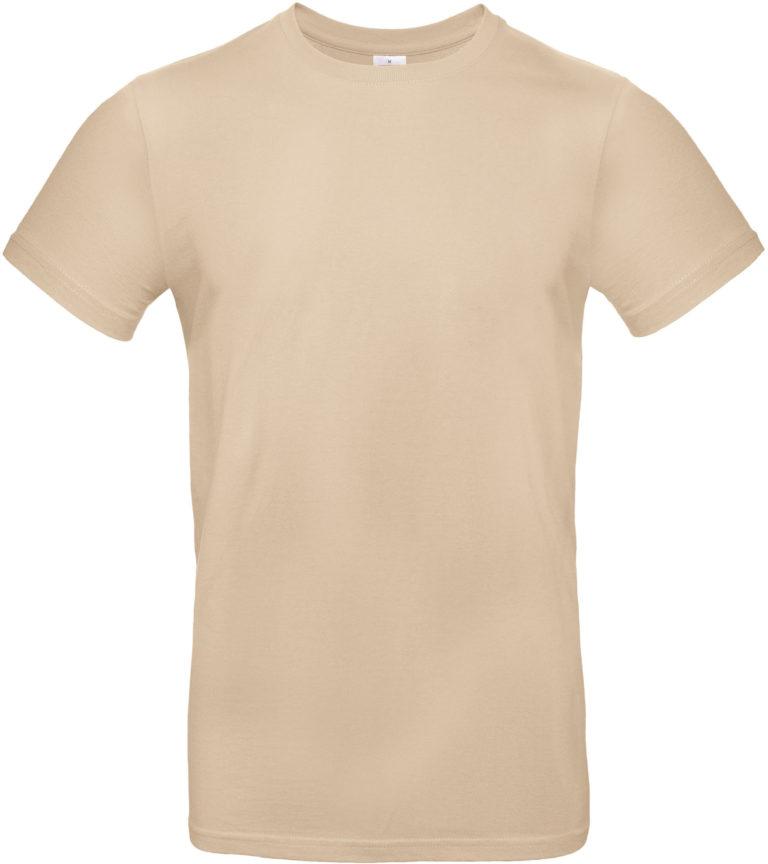 Exact 190 T-shirt B&C Zand