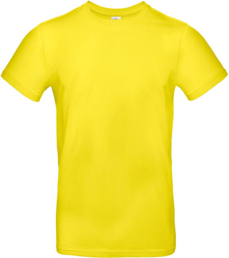 Exact 190 T-shirt B&C Solar geel