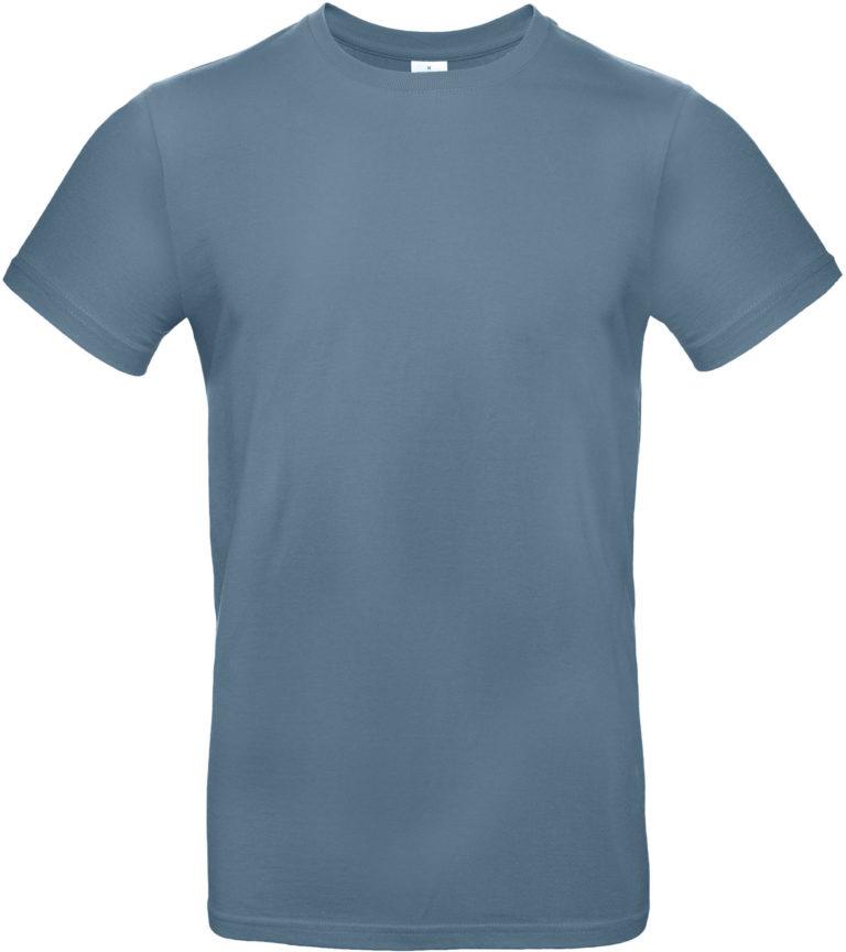 Exact 190 T-shirt B&C steenblauw