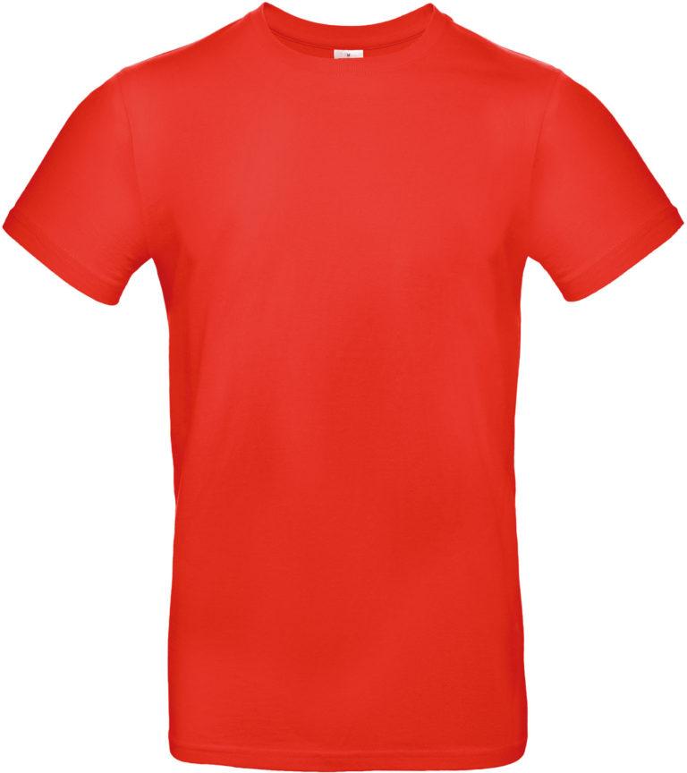 Exact 190 T-shirt B&C diep oranje