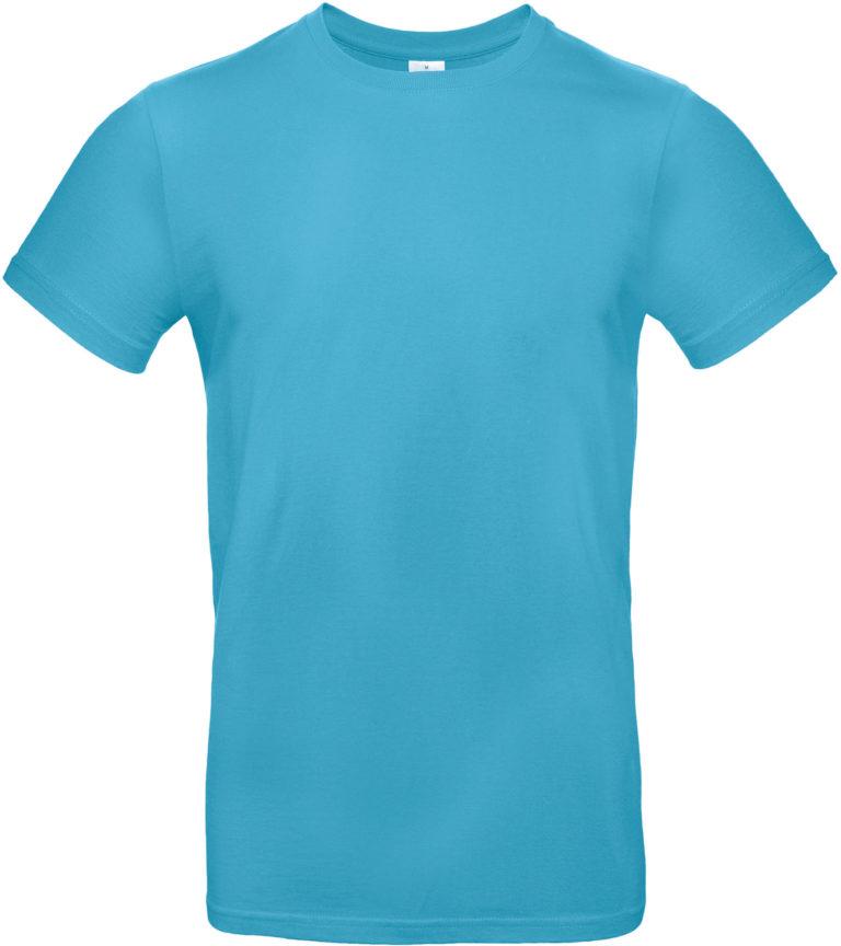 Exact 190 T-shirt B&C Aquablauw