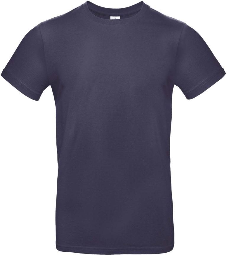 Exact 190 T-shirt B&C Urban Navy