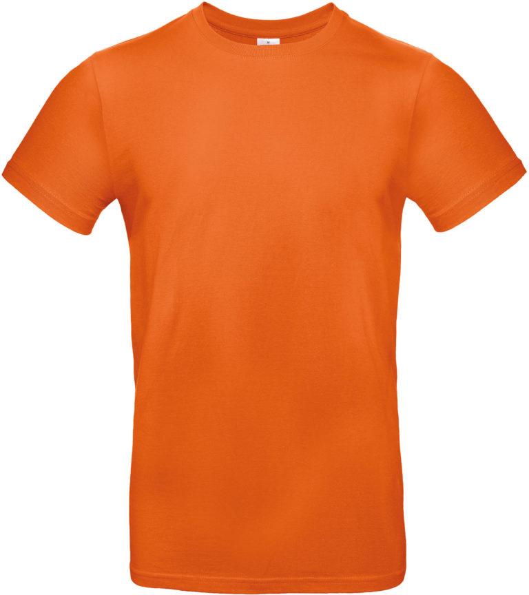 Exact 190 T-shirt B&C Urban Oranje