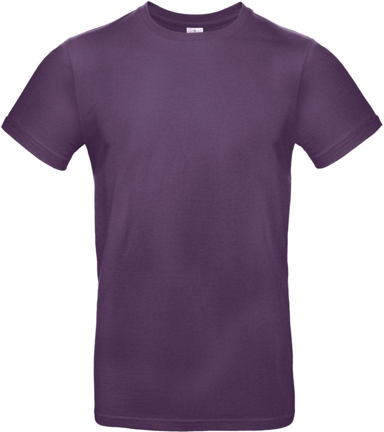 Exact 190 T-shirt B&C Urban Paars