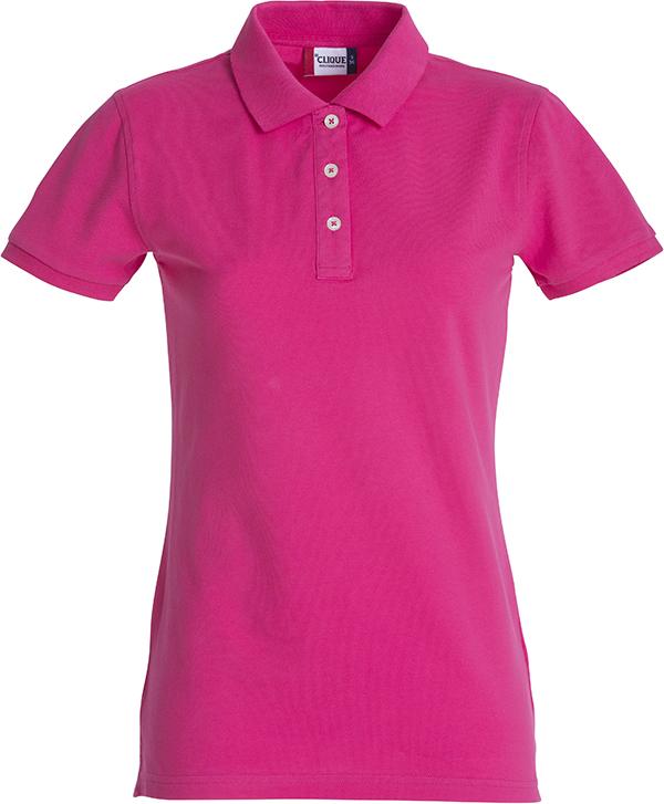 028241 Premium Polo Ladies fuchsia