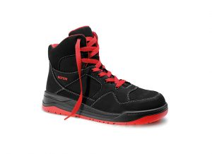 763391 Maverick Black-Red Mid ESD Elten
