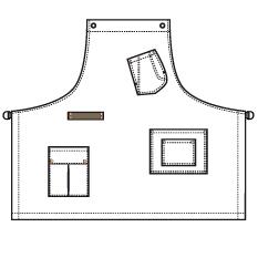 Norvil 646 Multipocket schort