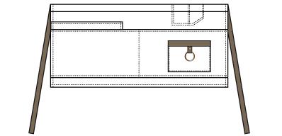 Norvil 647 Multipocket sloof