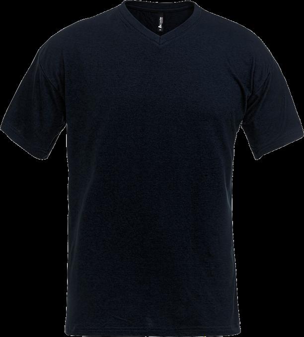 100241 T-shirt V-hals - Fristads