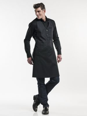 678 Barista Black Denim Chaud Devant