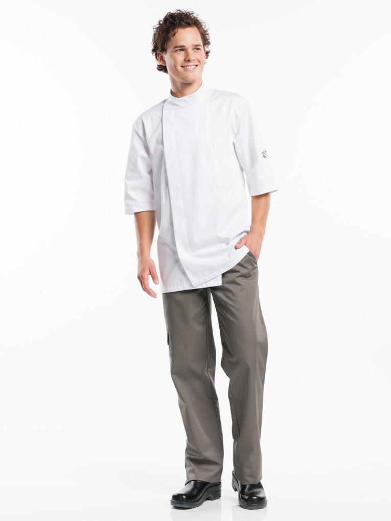 Bacio Koksjas Short Sleeve Chaud Devant wit