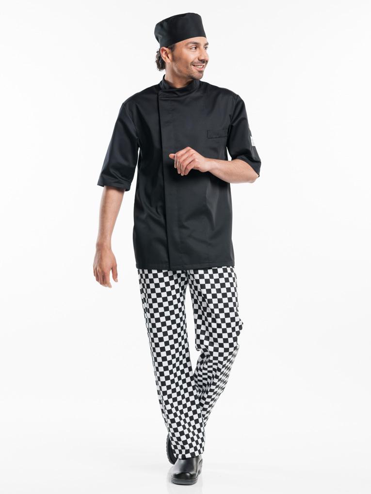 Bacio Koksjas Short Sleeve Chaud Devant zwart