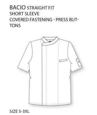 Bacio Koksjas Short Sleeve Chaud Devant