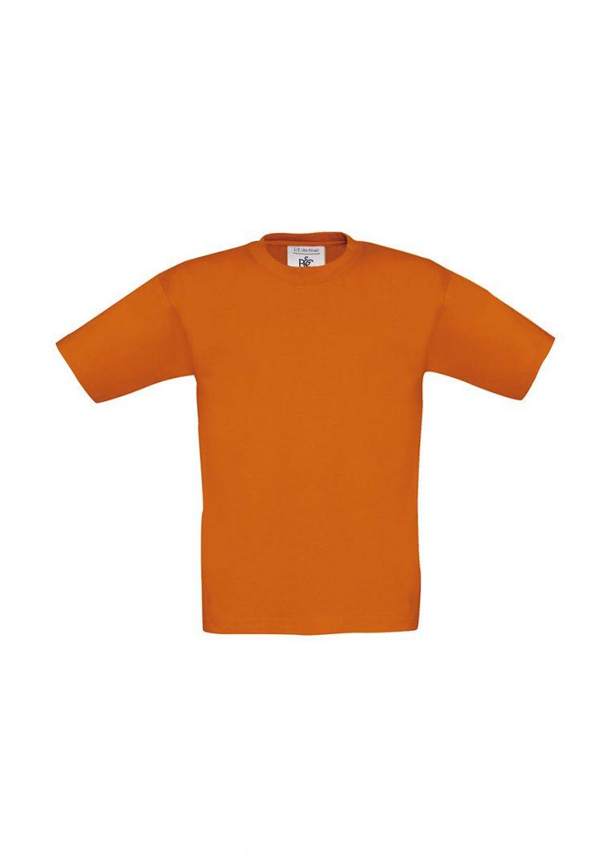 kinder T-shirt Exact 150 B&C oranje