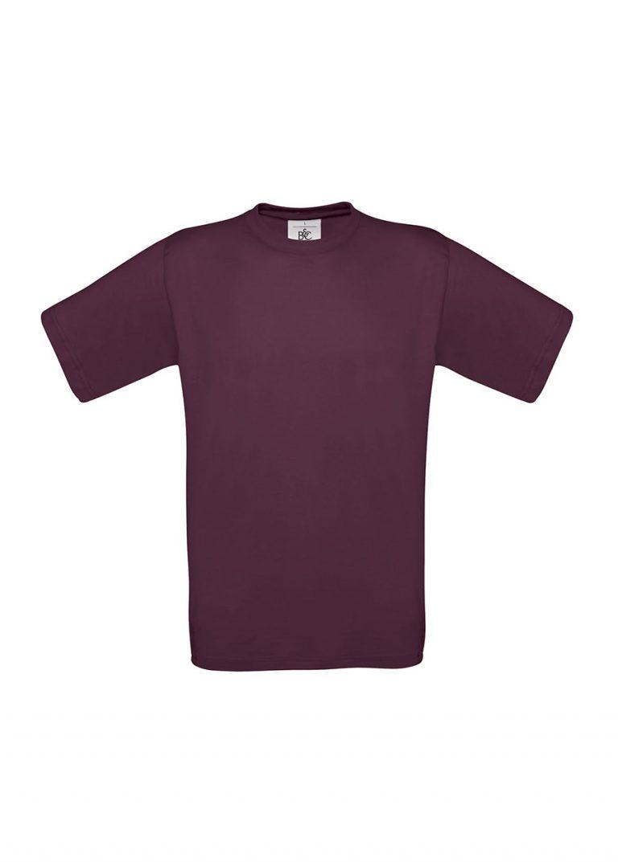 Exact 190 T-shirt B&C burgundy