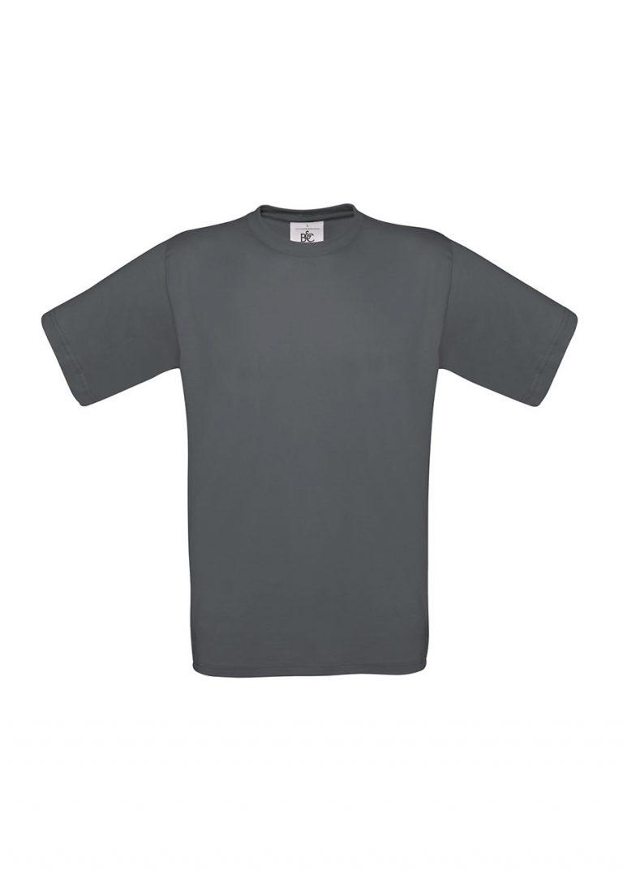 Exact 190 T-shirt B&C dark grey