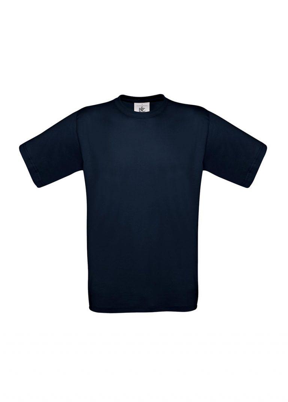 Exact 190 T-shirt B&C navy