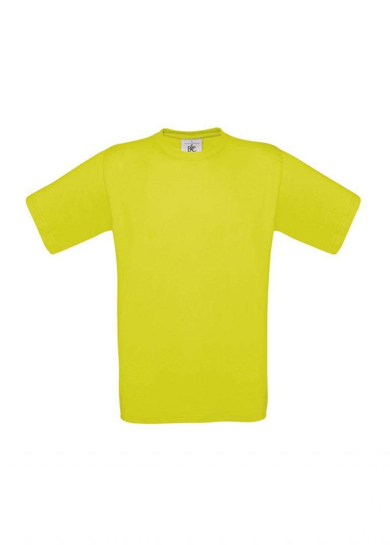 Exact 190 T-shirt B&C pixel lime