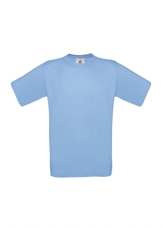 Exact 190 T-shirt B&C sky blue
