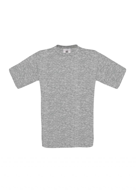 Exact 190 T-shirt B&C sports grey