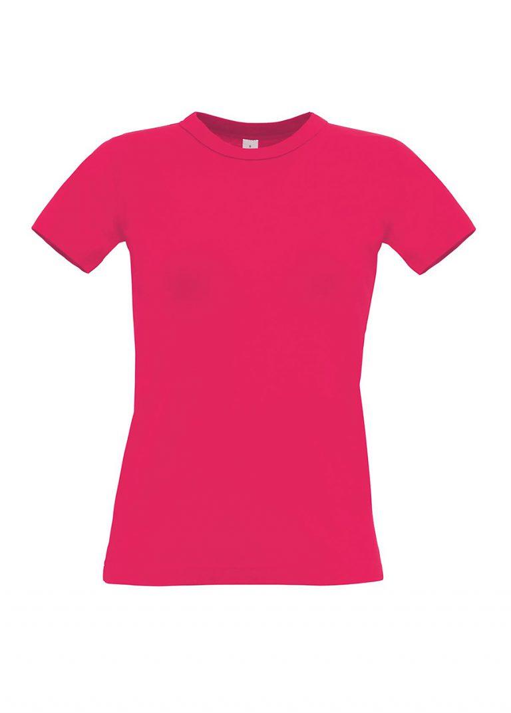 Exact 190 dames T-shirt B&C sorbet