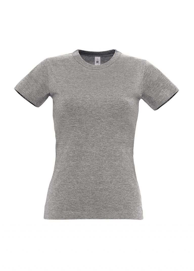 Exact 190 dames T-shirt B&C sports grey