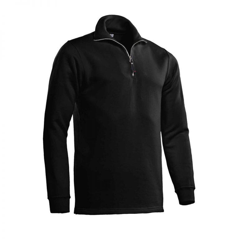 Alex Zipsweater Santino zwart