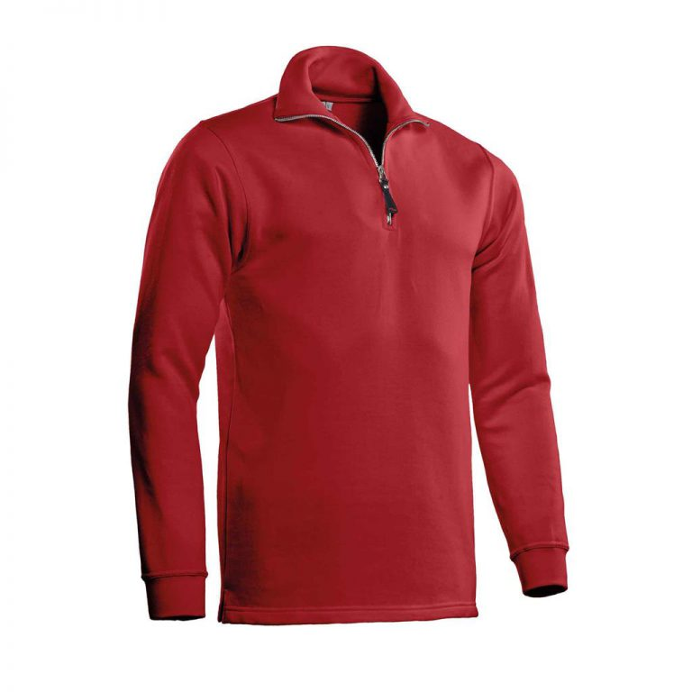 Alex Zipsweater Santino rood