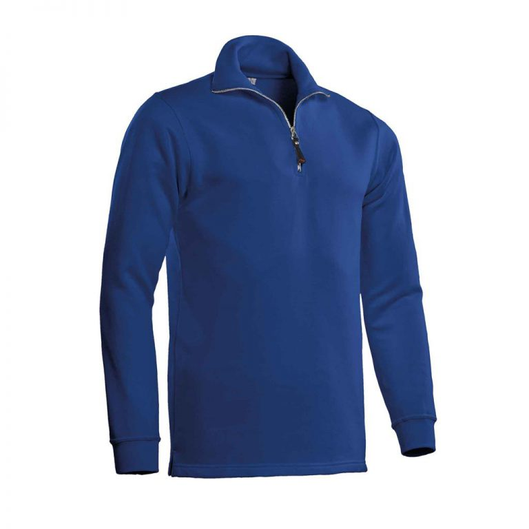 Alex Zipsweater Santino royal blue