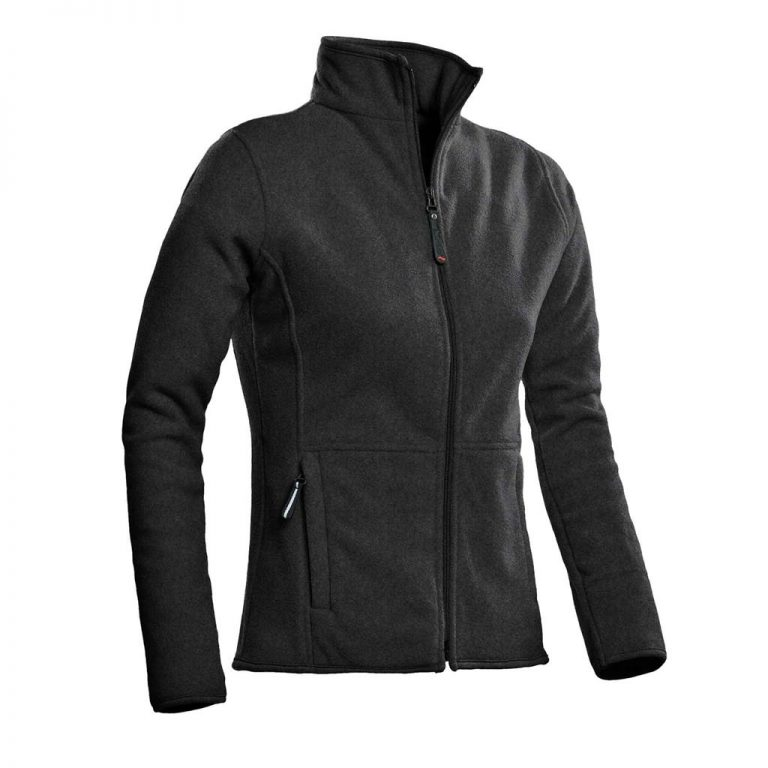 Bormio Fleece Vest Ladies Santino antraciet