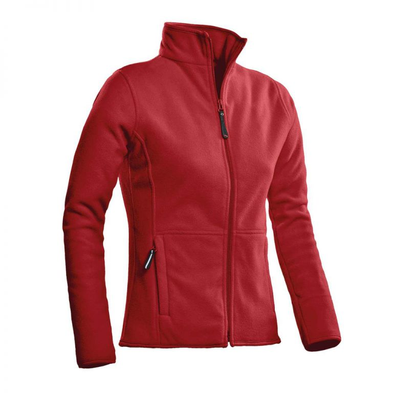 Bormio Fleece Vest Ladies Santino rood