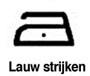 lauw-strijken