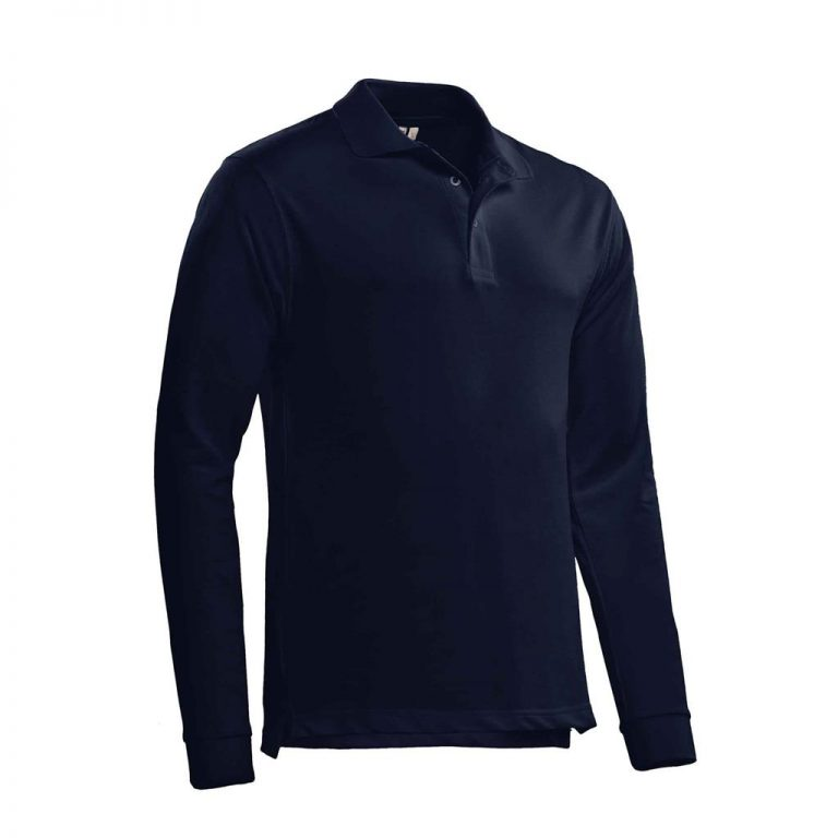 Matt Polo Lange Mouw Santino real navy