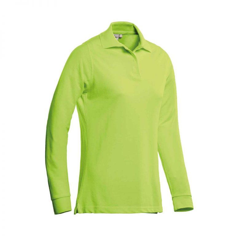 Matt Polo Ladies Lange Mouw Santino lime