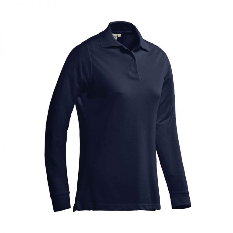 Matt Polo Ladies Lange Mouw Santino real navy