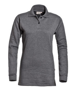 Rick Polosweater Ladies Santino d.grijs