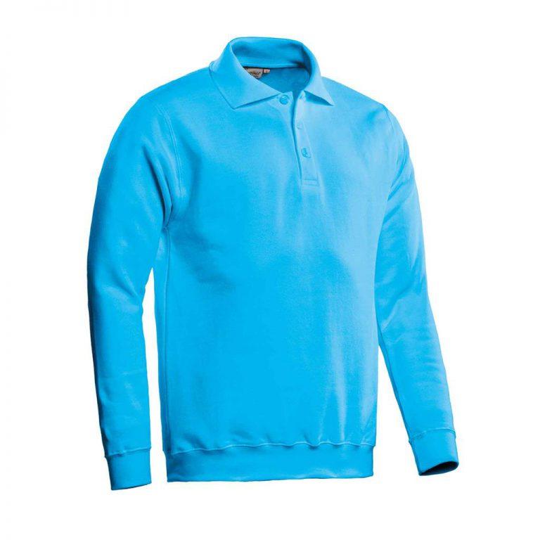 Robin Polosweater Santino aqua