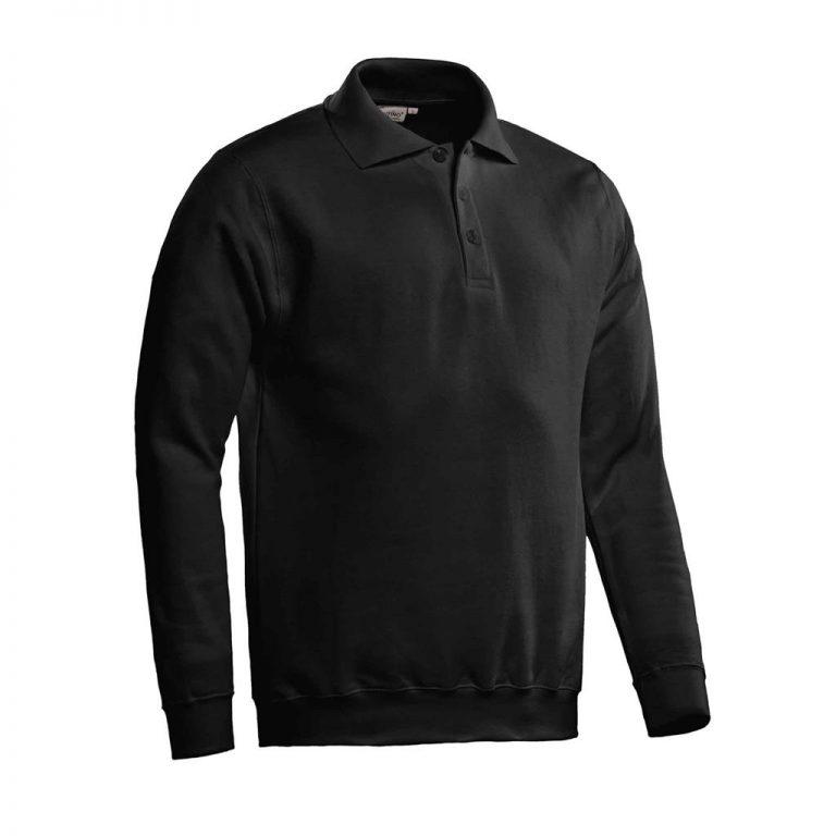 Robin Polosweater Santino zwart